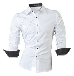 2016 casual shirts dress male mens clothing long sleeve Single Breasted social slim fit brand boutique cotton western button