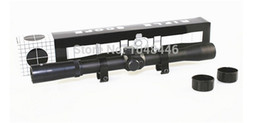 Tactical 4X20 telescope Rifle Scope Sight