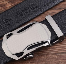 Wholesale New Designer automobile buckle Automatic Buckle Cowhide Leather belt men designer belts mens belts luxury cm