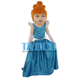 Cinderella Mascot Costumes Famous Cartoon Princess Mascot Costumes