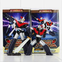 Wholesale Anime Mazinger Z PVC Action Figure Collectable toy for Kids Toys Chritmas Gifts style set retail