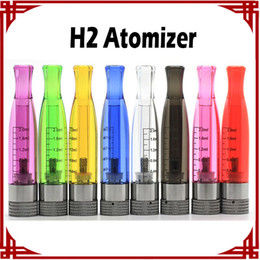 [sp] E-cigarette H2 Atomizer H2 Cartomizer e cig Electronic Cigarette GS H2 Atomizer Clearomizer No Wick Rainbow Colors Replace CE4 Atomizer