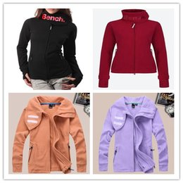 Wholesale brand top quality lady sport bench women SCUBA FLEECE HOODIE sport Jackets BBQ SWEATSHIRTS outerwear original JACKET