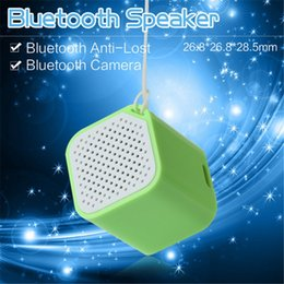 Small Box Bluetooth Speaker Bass Sound Box Music Player Speaker with Anti-Lost Camera Remote Shutter Function With Retails Package