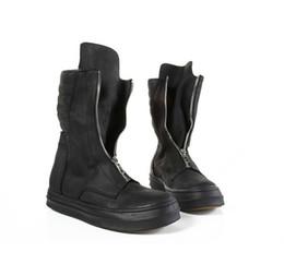 2017 los hombres hechos a mano de los zapatos oxford Zapatos superior de lujo Marca con clase a mano de alta manera del corte Men Out Door Botas Pasarela estrella Oxford grueso del zapato inferior impermeable los hombres hechos a mano de los zapatos oxford en oferta