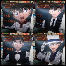 Anime Detective Conan Edogawa Anita Hailey Jimmy Kudo Rachel Moore Hattori Heiji Kaitou Kiddo soft and comfortable Cushion pillow present