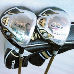 New Golf Clubs HONMA S-03 3 star Golf Fairway wood 3 15 5 18 Graphite Golf shafts Golf headcovers Wood clubs Free shipping