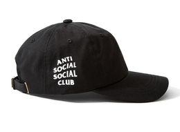Wholesale Anti Social Social Club Baseball Cap Men Women Brand New Summer Hat God Pink White Black Letter Adjustable Golf Outdoor