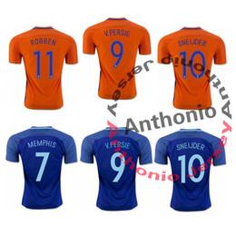Wholesale HOLLAND NEDERLAND NETHERLAND SNEIJDER ROBBEN VAN PERSIE FUTBOL thai quality soccer jersey thailand football jerseys soccer jerseys uniforms