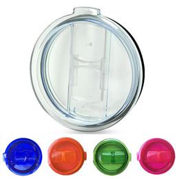 Wholesale Multi color Yeti Cup Lids oz oz Splash Spill Proof Lids RTIC Tumbler Cup Replacement Resistant Proof Cover Lids
