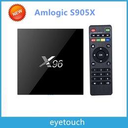 Wholesale X96 G G S905X TV BOX K Android6 Amlogic S905X Quad Core H Media Player KODI Marshmallow GHz Wifi Miracast Airplay DLNA VS MXQ
