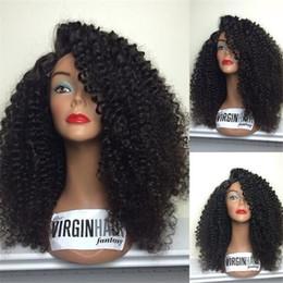 Célébrités de couleur naturelle des cheveux à vendre-Loose Curly femmes indiennes perruques de cheveux de célébrité naturelles cheveux de couleur naturelle perruques avec des cheveux de bébé bouclés ondulés glueless pleine perruque de dentelle 130% de densité