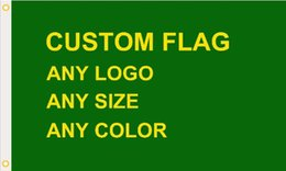 Wholesale 3ft ft DHL frshpping Football team club custom make flag Digital Print D polyester pongee graphic designer club crest all size all logo