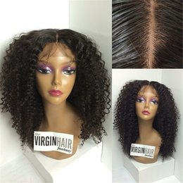 Afro Kinky Curly Wig Glueless Full Lace Human Hair Wigs For Black Women 7A Short Bob Human Hair Wigs Brazilian Lace Front Wig