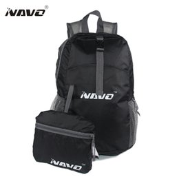 Gros-NAVO 2016 Outdoor Sport Ultraléger Pliable Sac à dos Randonnée Sac Sport Voyage Back Pack Ecole Folding Bag Black Blue Orange Sacs à partir de fabricateur