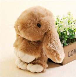 Wholesale 2016 New toys Little rabbit doll plush rabbit rabbit plush toys doll possum Wedding Doll birthday gift girl toys colors