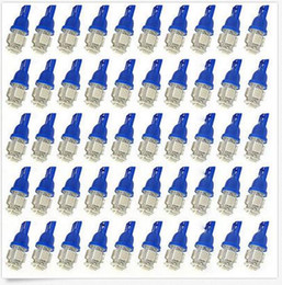 100Pcs Super White T10 Wedge 5-SMD 5050 LED Light bulbs W5W 2825 158 192 168 194 wholesale price