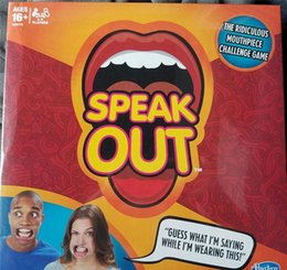 Wholesale Hottest Speak Out Game KTV party game cards for party Christmas gift newest best selling toy