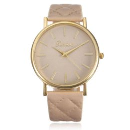 Wholesale Cheap Chronograph Watches Women - Gofuly Top Brand Fashion Women Casual Geneva Roman Leather Band Analog Quartz Wrist Watch Cheap women see through bras