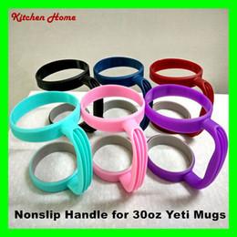 New Design Plastic Handles for 30oz Yeti Rambler Tumbler Cups Nonslip Secure Holder For Yeti 30oz Stainless Steel Insulated Tumbler Mugs