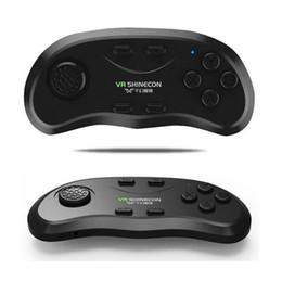2017 androide de la palanca de mando inalámbrico VR Shinecon inalámbrico Bluetooth control remoto de joystick controlador de juego Gamepad para Iphone / Android universal compatible con VR gafas androide de la palanca de mando inalámbrico outlet