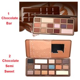 Wholesale Shipping in hours Promotional Chocolate Bar Semi Sweet Eyeshadow Palette Colors Eye Shadow Good Quality