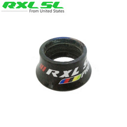 Wholesale RXL SL Bicycle Cone Headset Spacer Full Carbon Fiber Gasket Bike Carbon Washer Bicycle Carbon Spacer mm mm mm