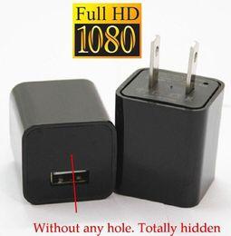 Wholesale Mini P GB HD SPY DVR Hidden Camera US EU AC Plug Adapter Video Recorder Cam