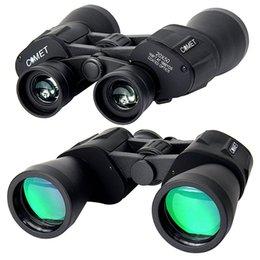 Х большой Онлайн-КОМЕТА 20x50 большого калибра окуляр с многослойным покрытием BaK4 Призмы HD 50мм Порро бинокли для путешествий и спорта Наблюдение за птицами W2343A