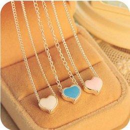 Beaux colliers à vendre-2016 Nouvelle belle petite doux amour Daren Coeur Collier exquis frais de déclaration sauvage