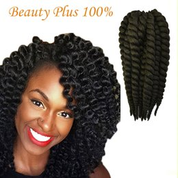 Wholesale Crochet Best - Best Seller of Havana Mambo Twist Crochet Braid Hair 12'' Synthetic crochet braids senegalese Twists Braiding Hair Extension Free Shipping
