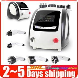 Radio Frequency Facial Lifting Skin Rejuvenation Ultrasonic 40K Cavitation Weight Loss Vacuum Fat Burning Beauty Machine