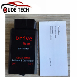 Wholesale Top Rated for VAG Drive Box OBD2 OBD2 IMMO Deactivator Activator for Bosch EDC15 ME7 VAG IMMO Deactivator