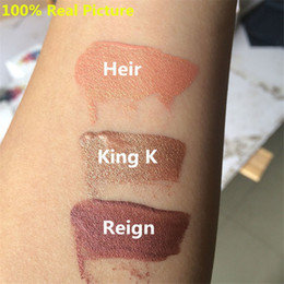 Wholesale Colors For Ladies - Hotselling KYLIE Cosmetic Metal Matte Lip Gloss Lip Stick For Lady with 4 Colors Make Up By Kylie Jenner