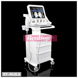 Wholesale 2016 Best High Intensity Focused Ultrasound Wrinkle Removal Anti Aging Face Lift HIFU Machine for Beauty Salon Spa with color touch screen