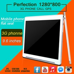 Wholesale 9 inch tablet phone call quad Core CPU Android Rally Ram GB ROM GB GPS WIFI FM radio Playstore Install