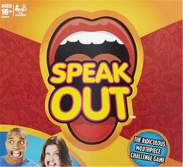 Wholesale Speak Out Game new hot game KTV party newest best selling toy with ap5566