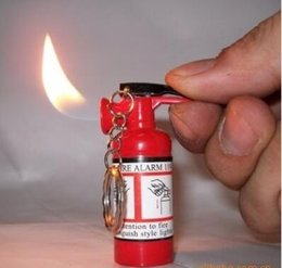 Wholesale Mini Fire Extinguisher Lighter KeyChain Gas Torch Butane Lighters With Key Ring also offer usb oil arc lighter great