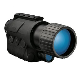 Wholesale WG x50 Infrared Night Vision Goggle no thermal Professional Telescope Digital Video Camera IR x Zoom HD Hunting Monocular