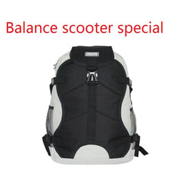 Wholesale 2016 Dropshipping new arrival scooters backpacks Electric Self balance unicycle wheel scooter backpack Skating shoes special bag
