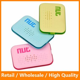 Wholesale Nut Mini Smart Finder Tracker Purse Finder Itag BluetoothTracket Pet Locator Luggage Wallet Phone Key Anti Lost Reminder Nut