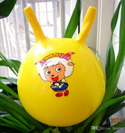 Kindergarten special children's inflatable ball. Baby watermelon balls, pat a small ball. Croissants ball 66g, inflatable toys single p