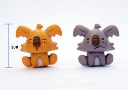 Wholesale The original single simulation Australian small koala dolls Creative cartoon dolls koalas micro mini furnishing articles