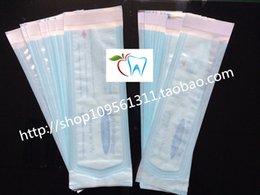 Wholesale Dental Dental Sterilization ziplock bags cm disinfection disinfection sterilization ziplock bags on roll oral dental materia