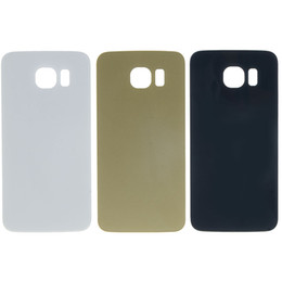 Wholesale 100 OEM Brand New Battery Cover Rear Back Door Case For Samsung Galaxy S6 S6 Edge Gold White Black
