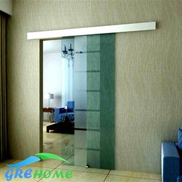 Wholesale Aluminium alloy glass barn sliding door hardware
