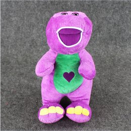Wholesale Barney Child s Best Friend barney sings quot I Love You quot song Plush Soft Stuffed Doll Toy for kids gift retail