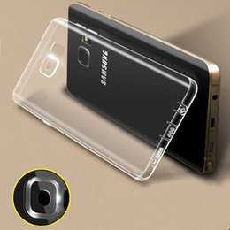 Wholesale For Samsung galaxy S7 plus edge G9350 ultra thin invisible tpu pC acrylic crystal shell sets protective sleeve Cell Phone Cases new sty
