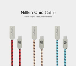 Nillkin Type C cable USB 2.0 Chic Nylon line Metal Plug cable for xiaomi mi5 zuk z2 pro zuk z1