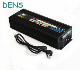 Wholesale real power w peak power w home power supply dc to ac UPS solar inverter with battery charger